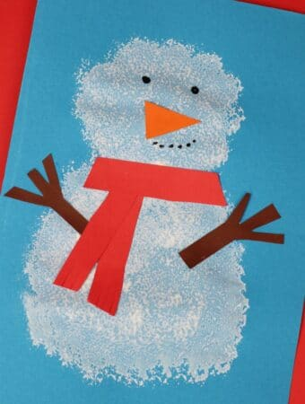 pom pom snowman craft ideas for for kids preschool toddlers