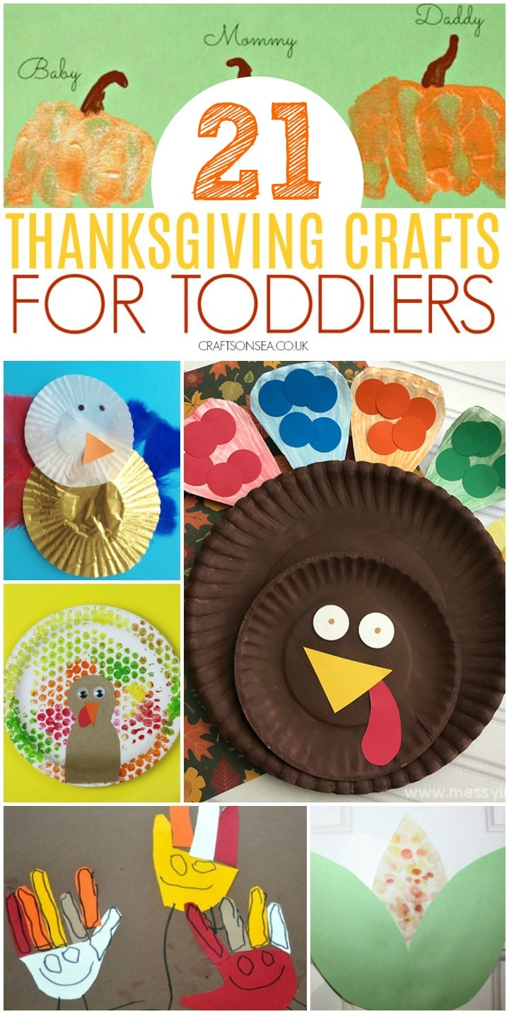 thanksgiving crafts for toddlers suitable for preschool