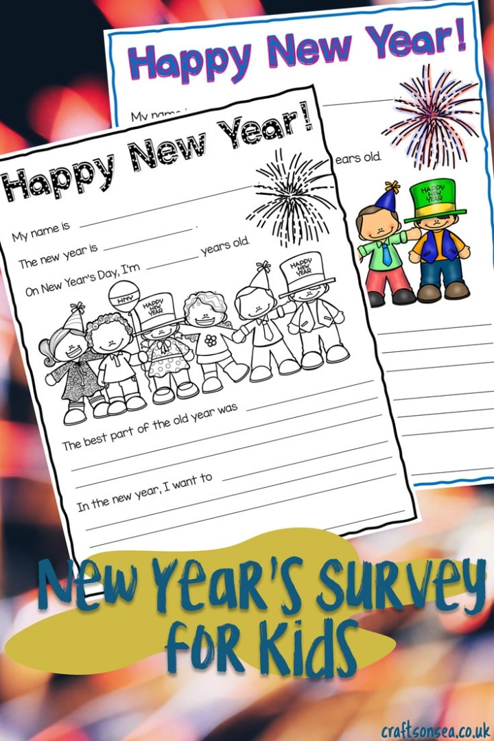 New Years Eve Printable Year In Review