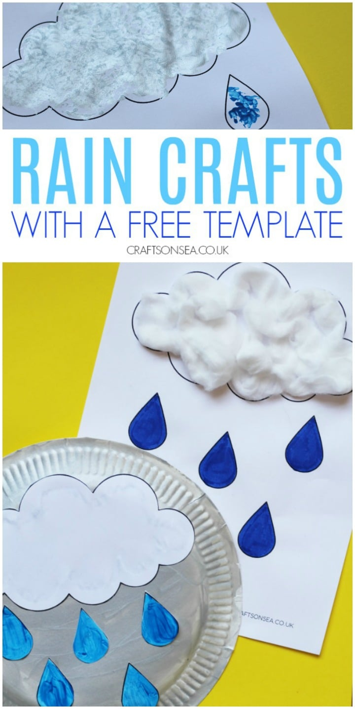 rain crafts for kids to make