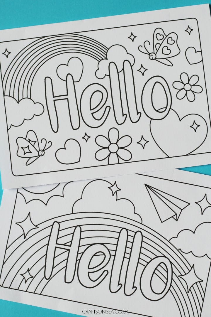 free printable cards for kids