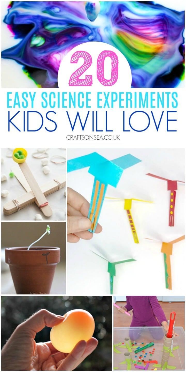 science experiments for kids easy