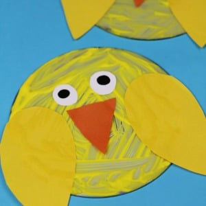 upcycled chick craft