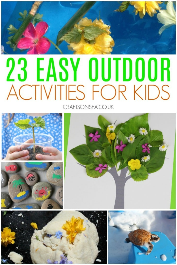 Easy Outdoor Activities for Kids To Do in Their Garden or Backyard