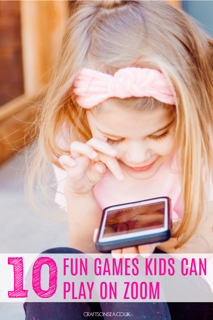 games kids can play on zoom fun