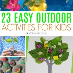 Easy Outdoor Activities for Kids 300
