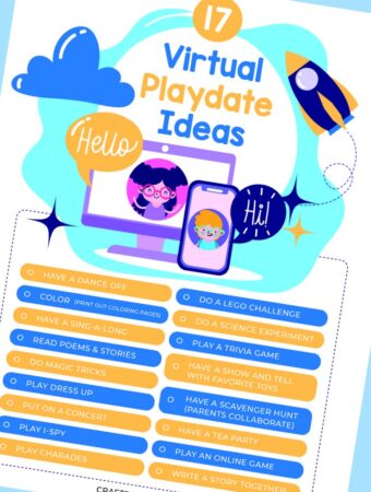Virtual Playdate Ideas for Zoom