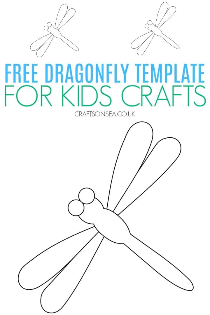 dragonfly template free printable