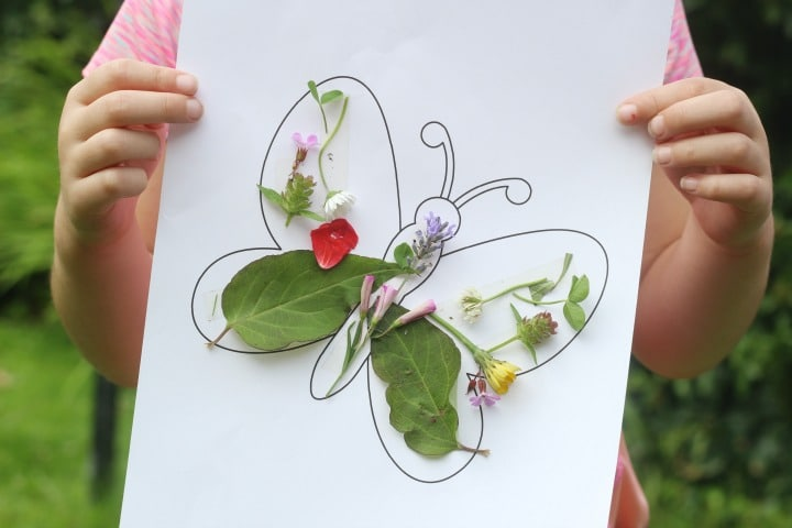 easy butterfly activity for kids