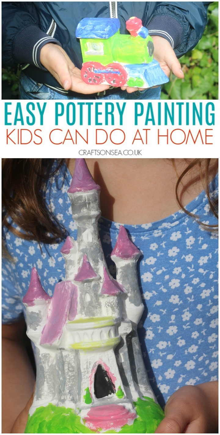 pottery painting kits for kids easy