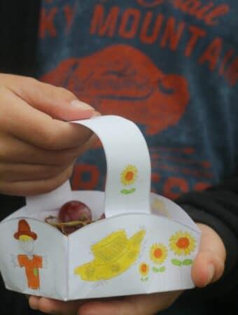 scarecrow craft for kids free printable