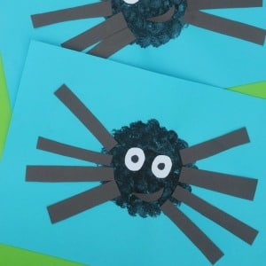 Easy Spider Craft for Kids 300