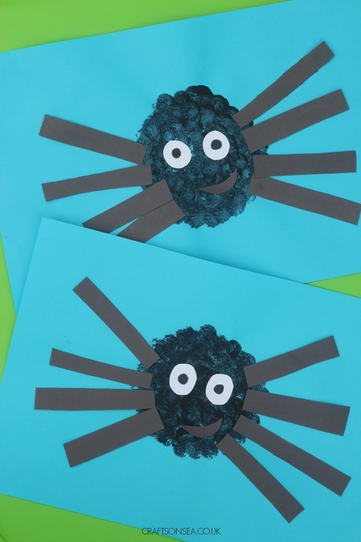 Easy Spider Craft for Kids
