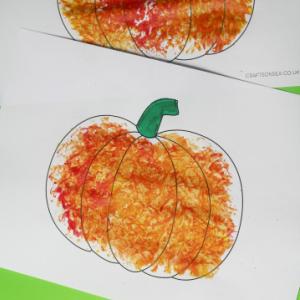 harvest pumpkin craft