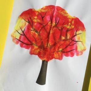 paint splat fall tree 300