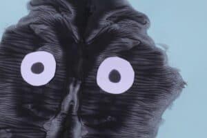 spider craft eyes