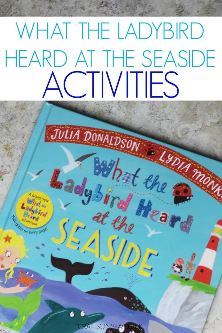 What the ladybird heard at the seaside activities