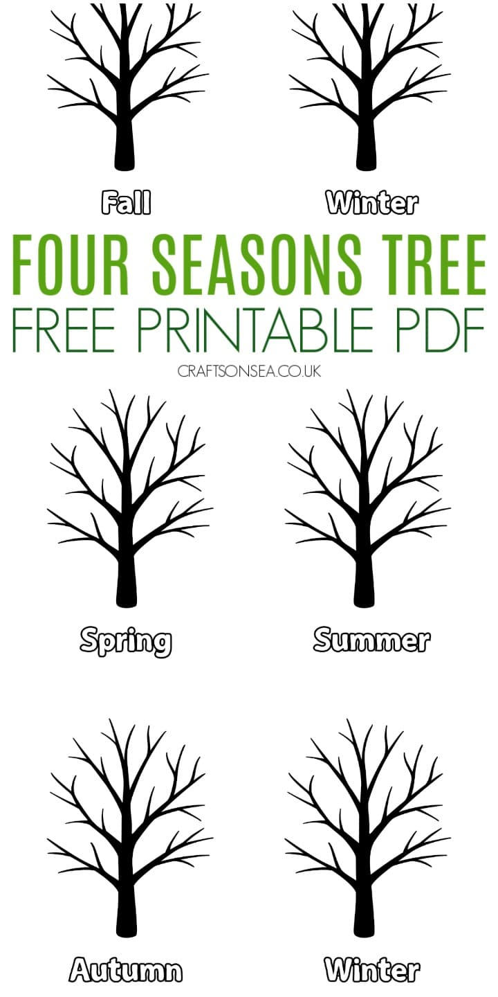 four seasons tree template pdf