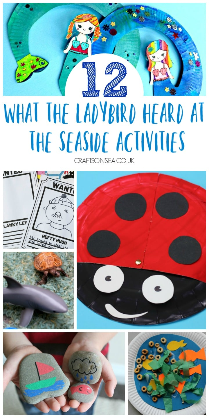 what the ladybird heard at the seaside activities for kids