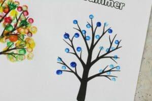 four seasons tree craft winter