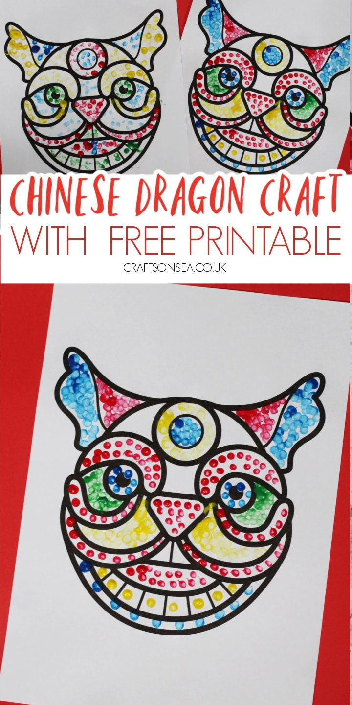 chinese dragon craft for kids