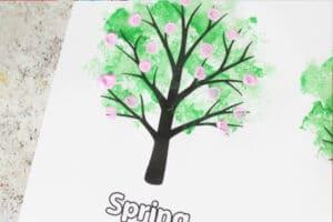 four seasons tree craft spring