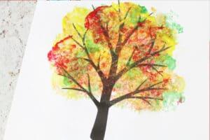 four seasons tree ideas fall