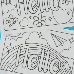 free printable cards for kids to colour 300