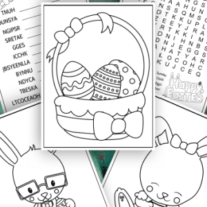 free printable easter activity sheets 300