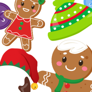 free printable gingerbread man game for kids 300