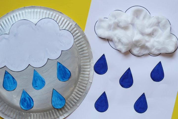rain craft for kids