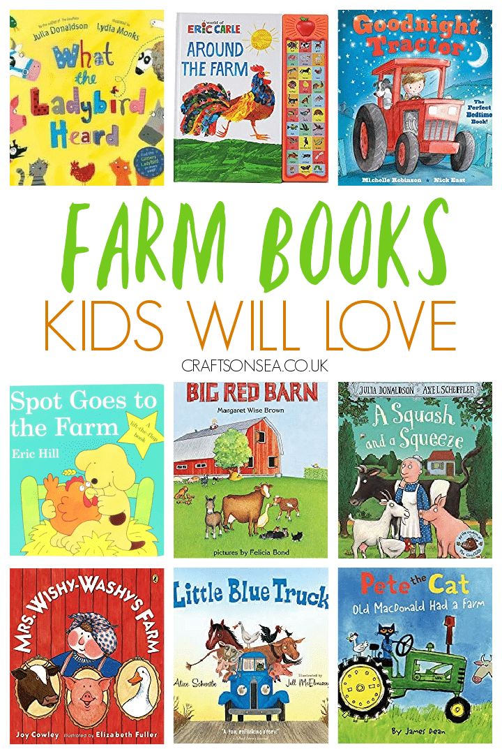 Farm books for kids preschoolers toddlers
