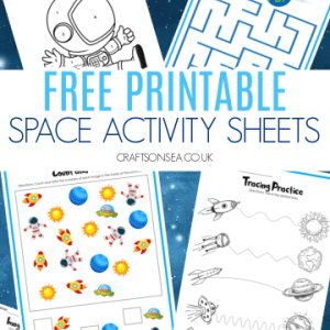 space activity printables 300