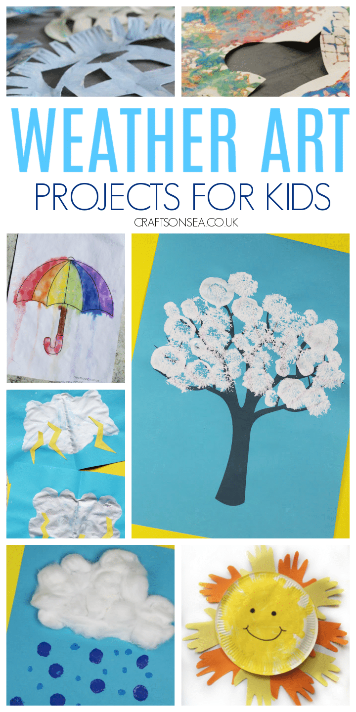 Weather art projects for kids