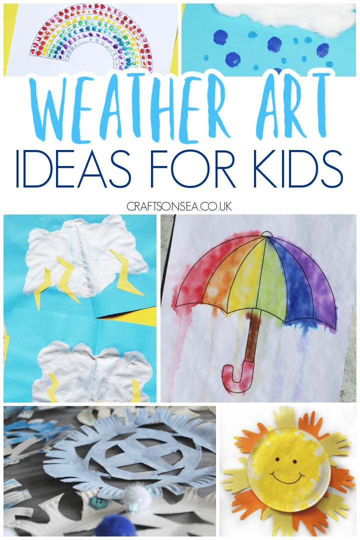 weather art for kids