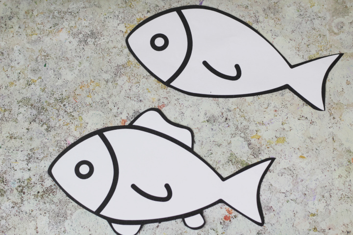 cut out fish templates
