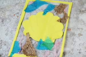 how to decorate a suncatcher craft for kids