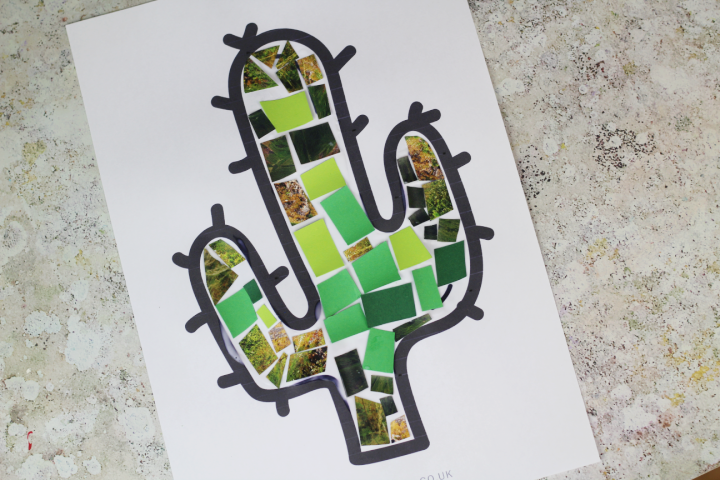how to make a mosaic craft for kids