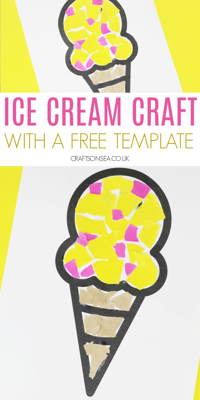 ice cream craft printable