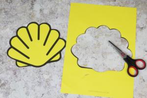 printable shell template
