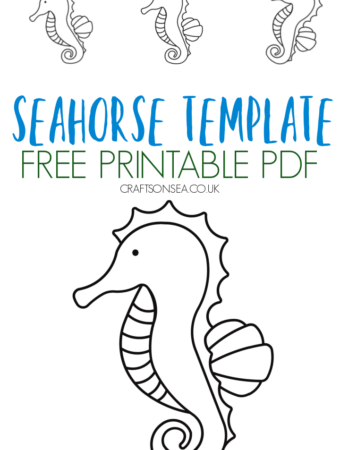 seahorse template