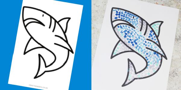 shark template craft 300