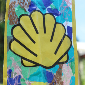 shell suncatcher craft