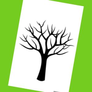 modèle d'arbre imprimable