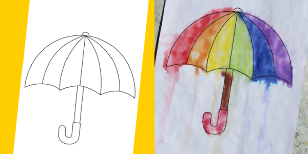 umbrella template craft 300