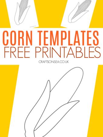 corn template