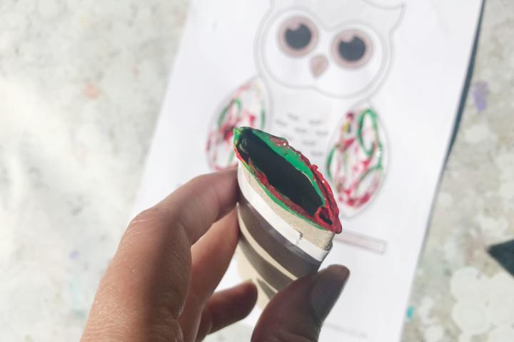 owl craft for kids preschool