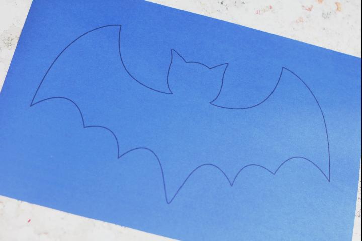 bat template for kids crafts