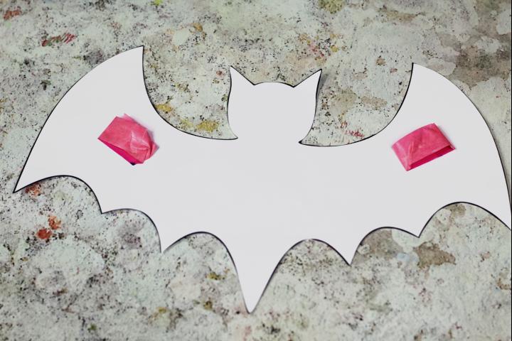 bat template washi tape
