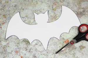 cut out bat template